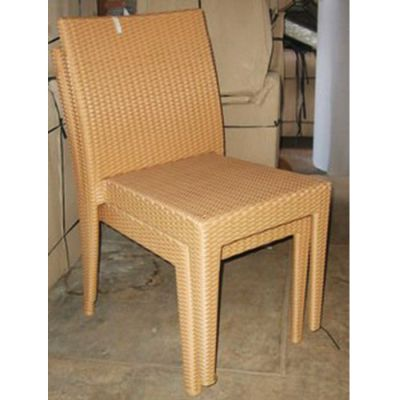 Synthetic Rattan Dining Chair  Synthetic Rattan Dining Chair. Synthetic Rattan Dining Chairs   Reclaimed Teak Furniture