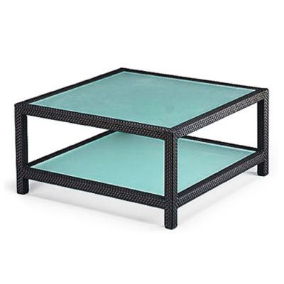 rattan coffee table square 3